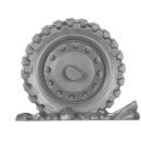 Warhammer 40k Bitz: Genestealer Cults - Atalan Jackals - Chassis C03 - Dirtcycle, Back Wheel