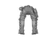 Warhammer 40k Bitz: Genestealer Cults - Atalan Jackals - Chassis C06 - Torso, Legs