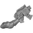 Warhammer 40k Bitz: Genestealer Cults - Atalan Jackals - Chassis C08 - Weapon, Bolt Pistol