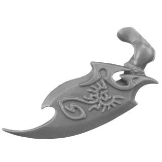 Warhammer AoS Bitz: Daughters of Khaine - Khinerai - Torso B07 - Heartpiercer Shield