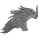 Warhammer AoS Bitz: Stormcast Eternals - Evocators - Torso A1e - Hair