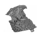 Warhammer AoS Bitz: Stormcast Eternals - Gryph-Hounds - Torso A1a - Kopf, Alpha