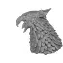Warhammer AoS Bitz: Stormcast Eternals - Gryph-Hounds - Torso C1b - Kopf, Links
