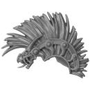 Warhammer AoS Bitz: Fyreslayers - Hearthguard - Torso C4b - Helmbusch