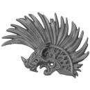 Warhammer AoS Bitz: Fyreslayers - Vulkite Berzerkers - Head M - Helmet Crest