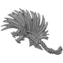 Warhammer AoS Bitz: Fyreslayers - Vulkite Berzerkers - Head O - Helmet Crest