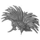 Warhammer AoS Bitz: Fyreslayers - Vulkite Berzerkers - Head Q - Helmet Crest