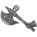 Warhammer AoS Bitz: Fyreslayers - Vulkite Berzerkers - Weapon A2 - Fyresteel Handaxe, Right