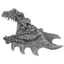 Warhammer AoS Bitz: Fyreslayers - Auric Runefather - Torso A4a - Magmadroth, Head, Left