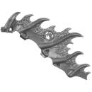 Warhammer AoS Bitz: Fyreslayers - Auric Runefather - Torso A2e - Magmadroth, Neck Fin