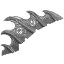 Warhammer AoS Bitz: Fyreslayers - Auric Runefather - Torso A3e - Magmadroth, Neck Fin