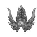 Warhammer AoS Bitz: Fyreslayers - Auric Runefather - Torso A4f - Magmadroth, Horns