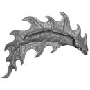 Warhammer AoS Bitz: Fyreslayers - Auric Runefather - Torso A5d - Magmadroth, Tail Fin