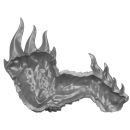 Warhammer AoS Bitz: Fyreslayers - Auric Runefather - Torso A6b - Magmadroth, Leg, Right