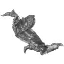 Warhammer AoS Bitz: Fyreslayers - Auric Runefather - Torso A8b - Magmadroth, Leg, Right