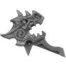 Warhammer AoS Bitz: Fyreslayers - Auric Runefather - Torso A1j - Magmadroth, Saddle, Front