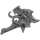 Warhammer AoS Bitz: Fyreslayers - Auric Runefather - Torso A1k - Magmadroth, Saddle, Front