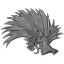 Warhammer AoS Bitz: Fyreslayers - Auric Runefather - Torso D1c - Auric Runefather, Helmet Crest, Left