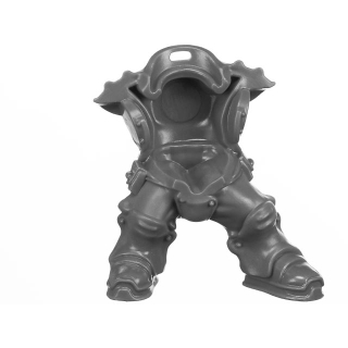 Warhammer AoS Bitz: Kharadron Overlords - Grundstok Thunderers - Torso A1 - Body