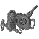 Warhammer AoS Bitz: Kharadron Overlords - Grundstok Thunderers - Torso D7 - Rückenmodul