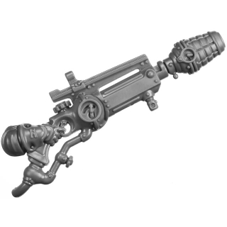 Warhammer AoS Bitz: Kharadron Overlords - Grundstok Thunderers - Torso D6a - Grundstock Mortar