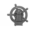 Warhammer AoS Bitz: Kharadron Overlords - Grundstok Gunhauler A02c - Wheelhouse, Steering Wheel