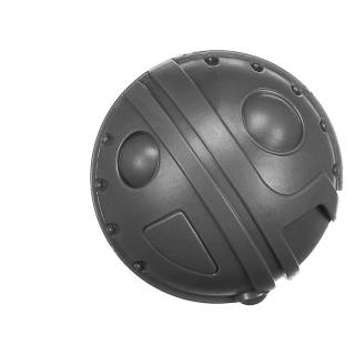 Warhammer AoS Bitz: Kharadron Overlords - Grundstok Gunhauler A05b - Vessel, Tank, Right