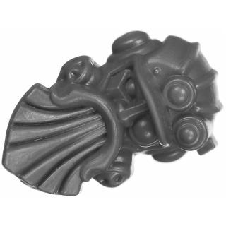 Warhammer AoS Bitz: Kharadron Overlords - Grundstok Gunhauler A02f - Crew, Steerer, Head