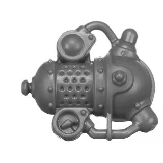 Warhammer AoS Bitz: Kharadron Overlords - Grundstok Gunhauler A02j - Crew, Steerer, Backpack