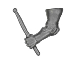 Warhammer AoS Bitz: EMPIRE - 006 - State Troops - Drum B1 - Stick, Left