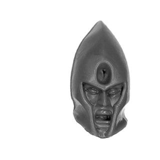Warhammer AoS Bitz: Dark Elves - Schreckensspeere - Kopf A1 - Junker/Dornenmeister