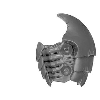 Warhammer 40K Bitz: Tyranids - Hive Guard / Tyrant Guard - Torso B2 - Left