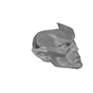 Warhammer AoS Bitz: DARK ELVES - 002 - Cold One Chariot - Crew Body D3 - Beastmaster, Head
