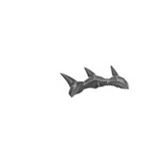Warhammer AoS Bitz: CHAOS - 005 - Dragon Ogres - Legs B4a - Spikes