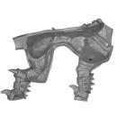 Warhammer AoS Bitz: CHAOS - 005 - Drachenoger - Beine C2b - Torso, Links
