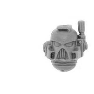 Warhammer 40k Bitz: Space Marines - Trike - Schütze A1 - Kopf