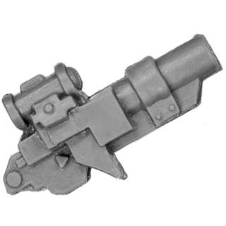 Warhammer 40k Bitz: Space Marines - Scoutbikeschwadron - Front B2 - Granatwerfer