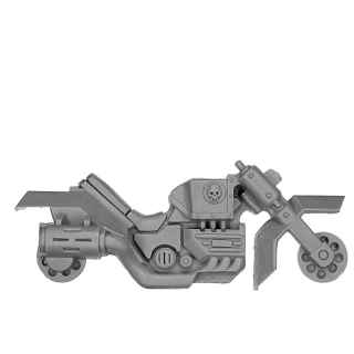 Warhammer 40k Bitz: Space Marines - Scout Bike Squad - Frame A1 - Right