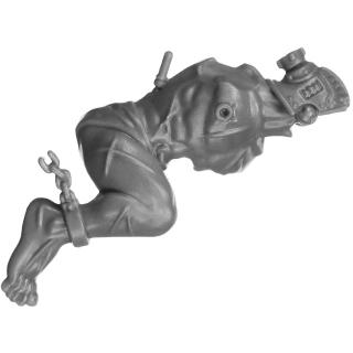 Warhammer 40k Bitz: Adeptus Sororitas - Arco-Flagellants - Torso B1a - Körper, Rechts