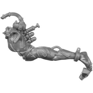 Warhammer 40k Bitz: Adeptus Sororitas - Arco-Flagellants - Torso C1b - Body, Left