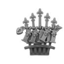 Warhammer 40k Bitz: Adeptus Sororitas - Repentia Squad - Torso A5b - Backpack, Top