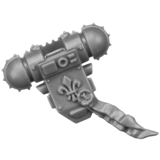 Warhammer 40k Bitz: Adeptus Sororitas - Retributor Squad - Torso C3a - Rückenmodul, Superior