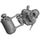 Warhammer 40k Bitz: Adeptus Sororitas - Retributor Squad - Torso D1a - Armorium Cherub, Front