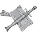 Warhammer 40k Bitz: Grey Knights - Grey Knight Terminatoren - Accessoire T - Rückenbanner