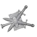 Warhammer 40k Bitz: Grey Knights - Grey Knight Terminatoren - Accessoire U - Rückenbanner