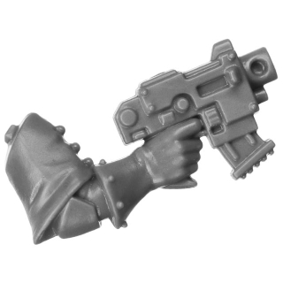 Warhammer 40k Bitz: Adeptus Sororitas - Seraphim Squad - Torso A4a - Bolt Pistol, Right