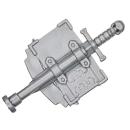Warhammer 40k Bitz: Grey Knights - Grey Knight Terminatoren - Accessoire V - Rückenbanner