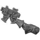 Warhammer 40k Bitz: Adeptus Sororitas - Seraphim Squad - Torso B4a - Bolt Pistol, Right