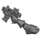 Warhammer 40k Bitz: Adeptus Sororitas - Seraphim Squad - Torso B3a - Bolt Pistol, Left