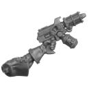 Warhammer 40k Bitz: Adeptus Sororitas - Seraphim Squad - Torso B3b - Flammenpistole, Links
